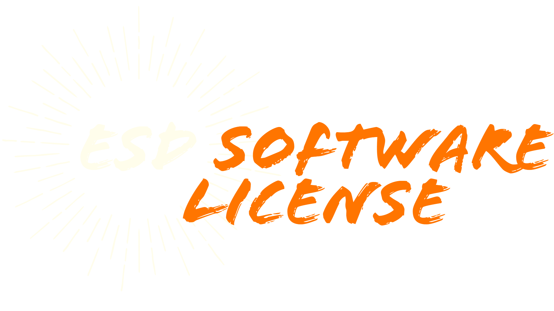ESD Software License